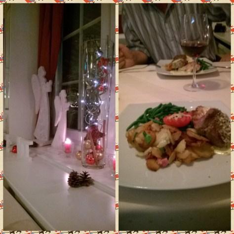 Man spiser godt i hotelles restaurant Yachtzimmer!