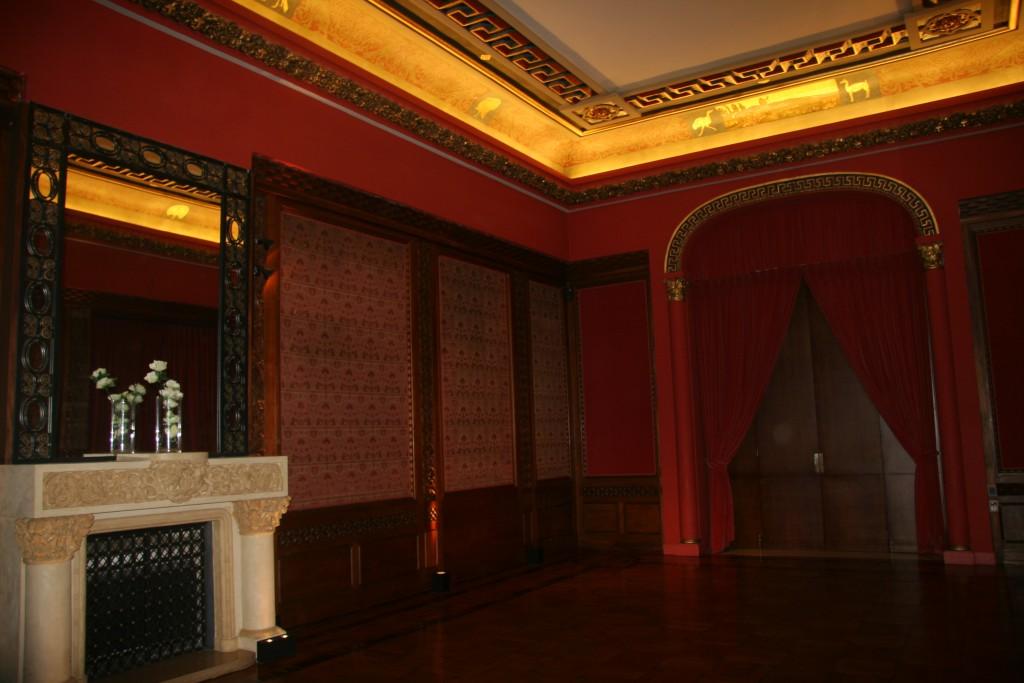 le Salon où se seraient connus Saint Exupéry et Consuelo