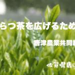 【地域活性化事例No.2】「からつ茶」を広げるために -唐津農業共同組合-