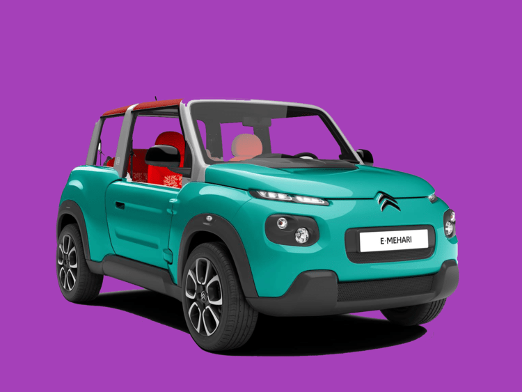 Citroen is rolling out a new all-electric E-Mehari this year.