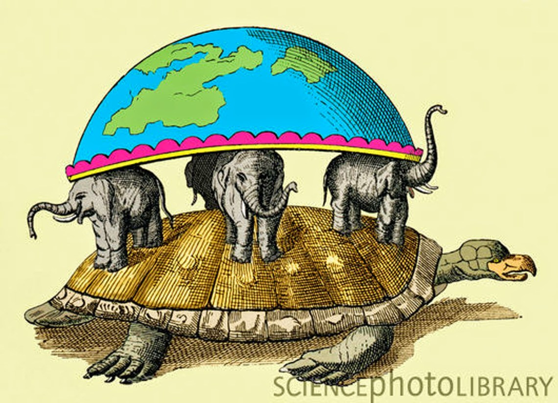 7. Akupara-Hindu world turtle
