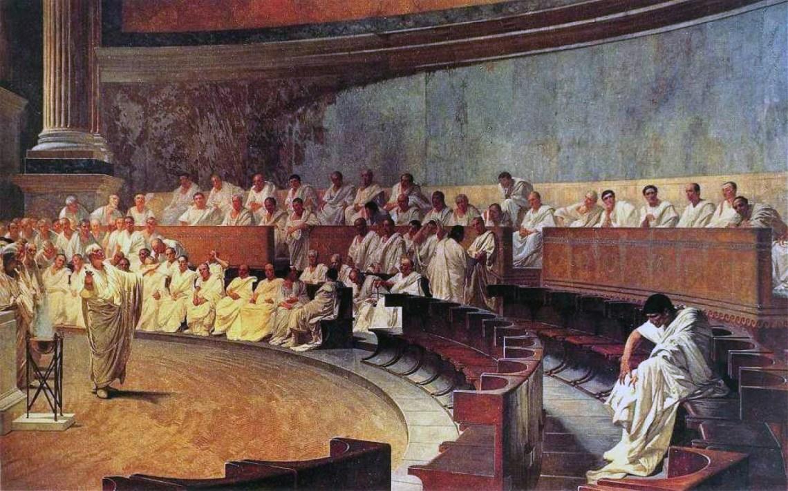 Cesare Maccari-Cicero