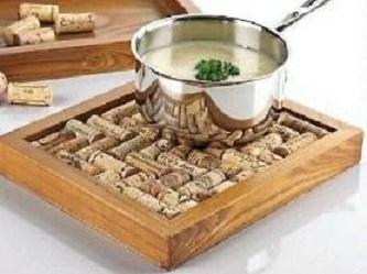 Dessous de plat bouchons - Dessous de plat en bouchon ...
