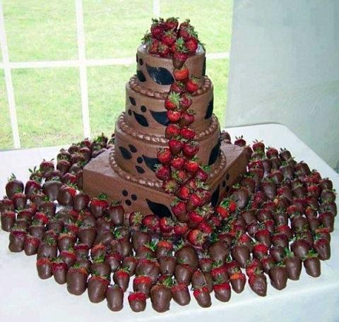 Piece Montee En Chocolat  Le Chocolat
