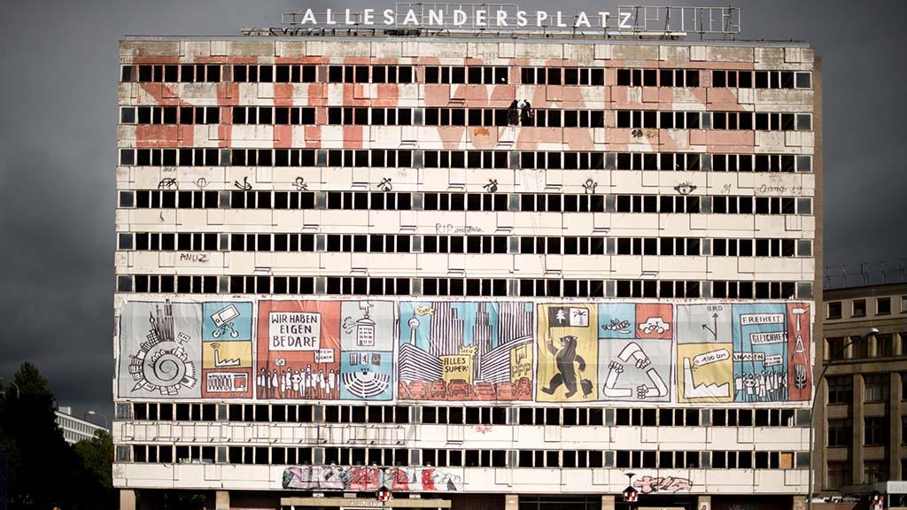 Berlin-Mitte: Upcycling, Filmvorführung und mehr im Haus der Statistik