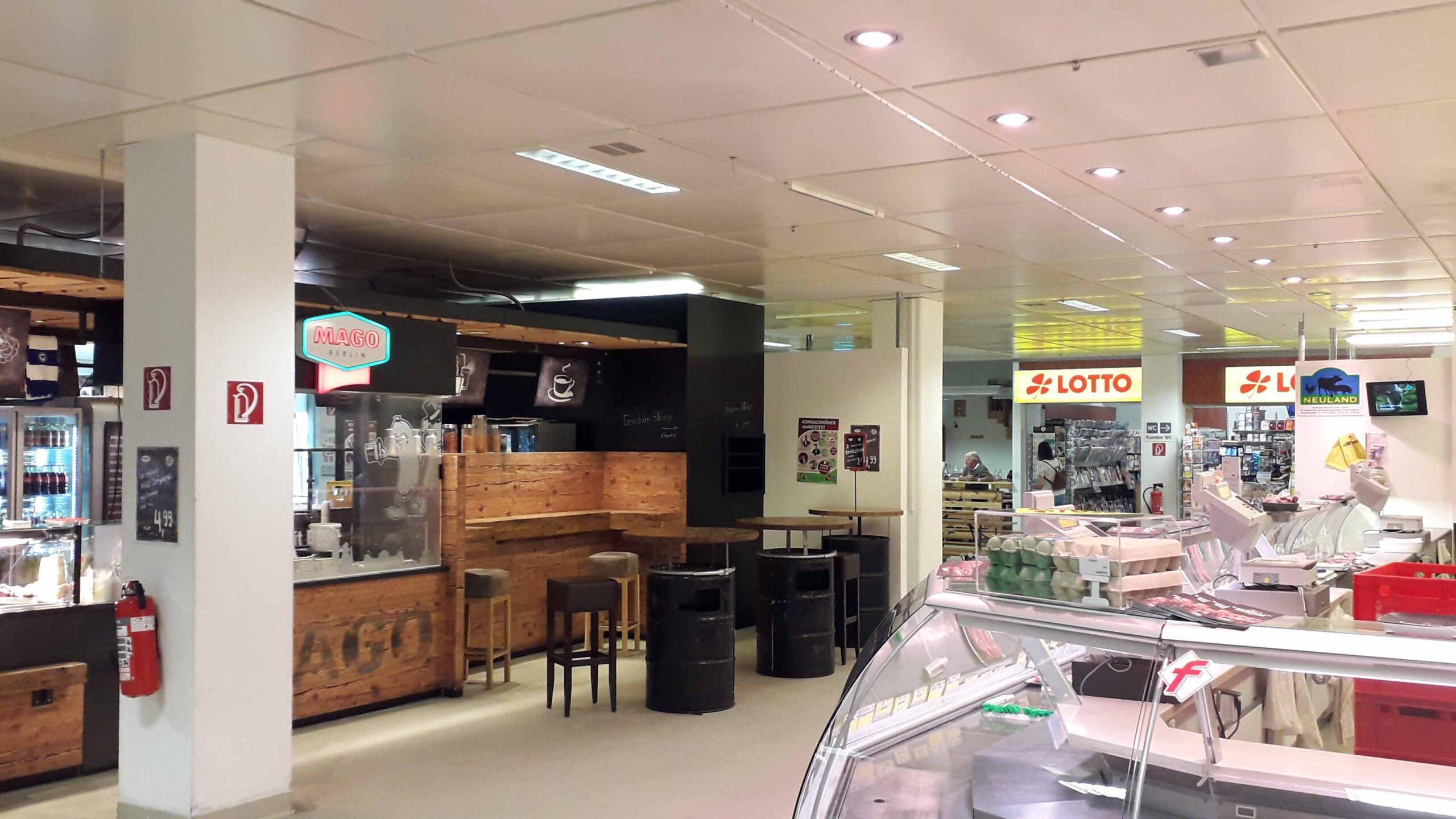 Berlin-Tegel: Markthalle schließt für sechs Monate