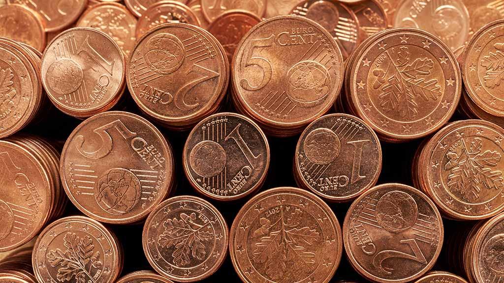 Abschied von kleinen Münzen