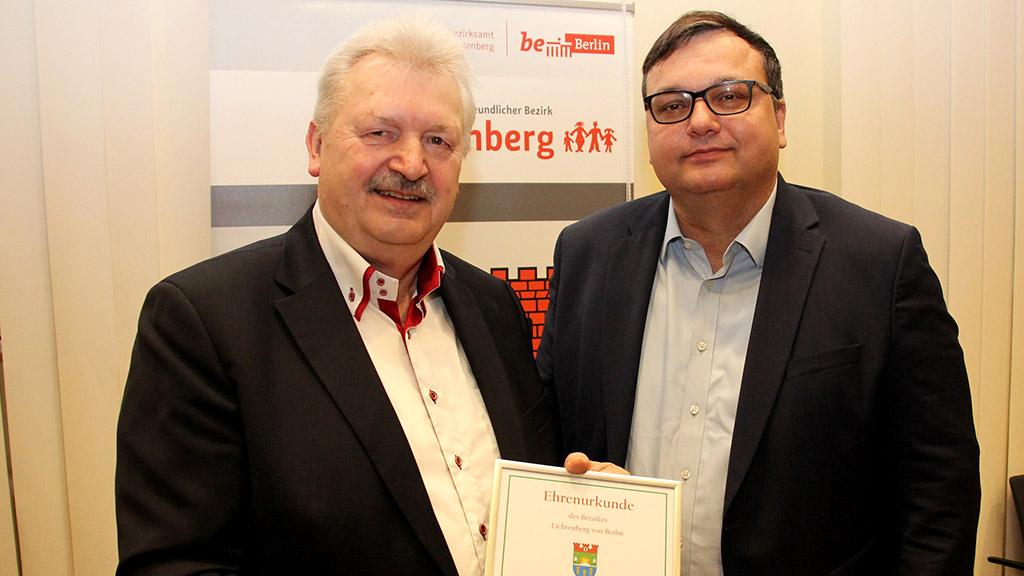 Lichtenberg: Berlins dienstältester Stadtrat geht in Rente