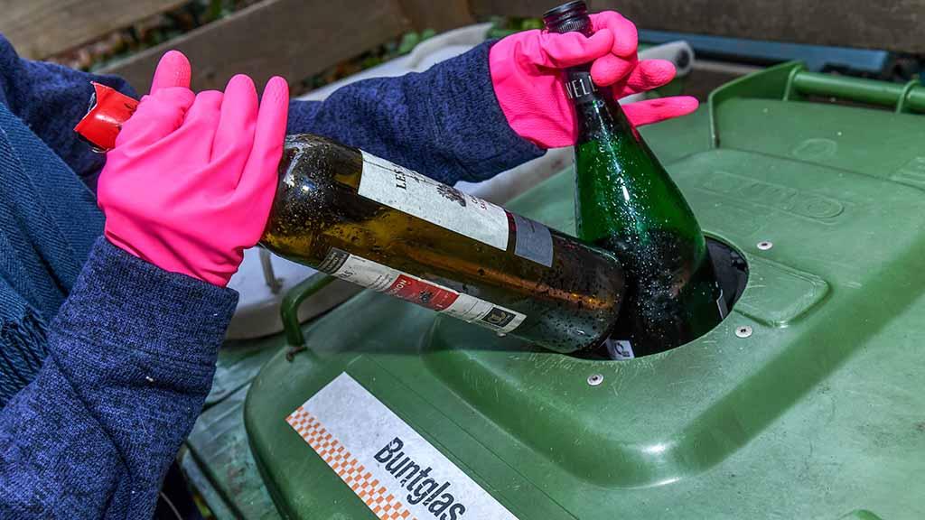 Steglitz-Zehlendorf: Altglastonnen verschwinden aus Innenhöfen