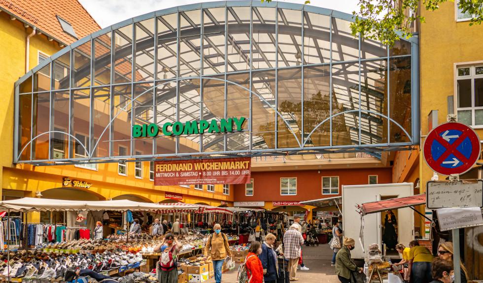 Ferdinandmarkt in Lichterfelde