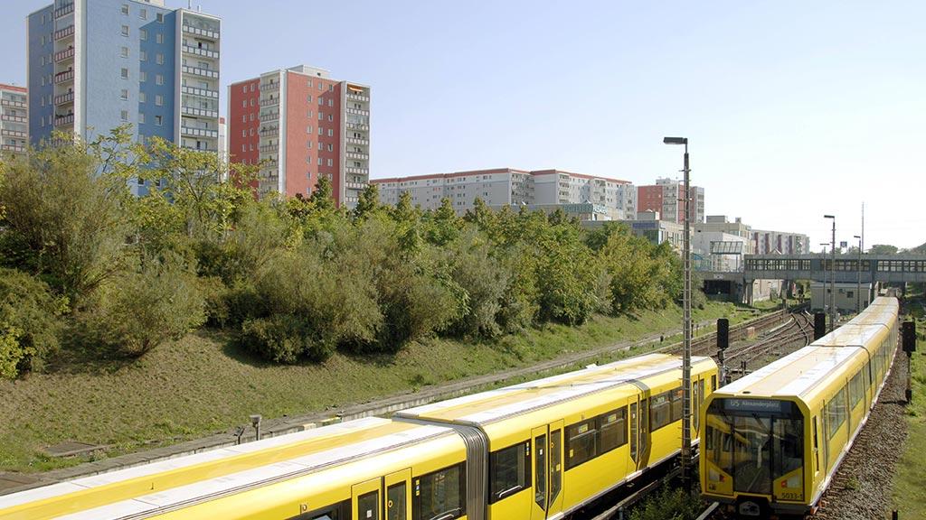 U5 in Hellersdorf