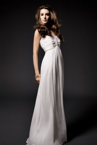 Bustier Hochzeitskleid, weiß, Kaviar Gauche