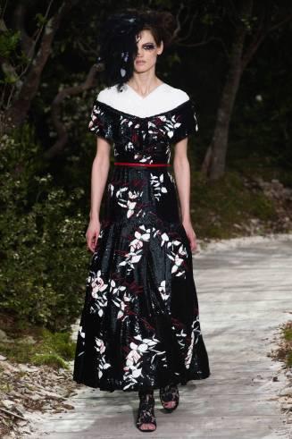 Chanel-Kleid, langes Cocktailkleid