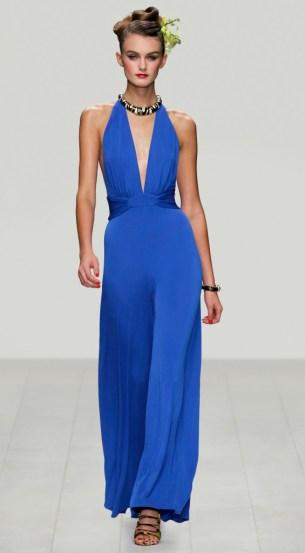 Abendkleid Issa, blau. Kollektion 2013