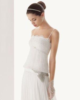 Hochzeitskleid 20er Jahre,  Rosa Clara