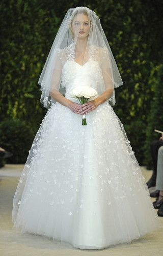 Hochzeitskleid Tüll, Carolina Herrera