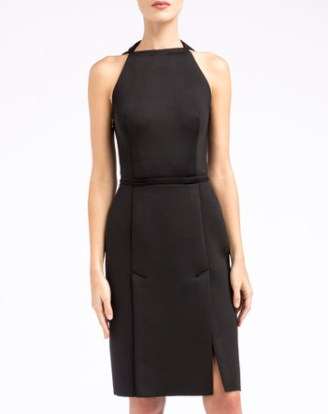 LANVIN Kleid schwarz, kurz.