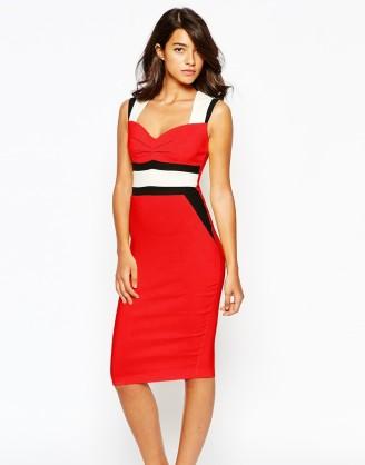 Rote Kleider im ASOS online Shop