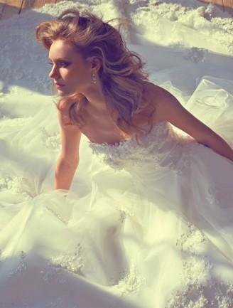 YUMI KATSURA Brautkleid weiß