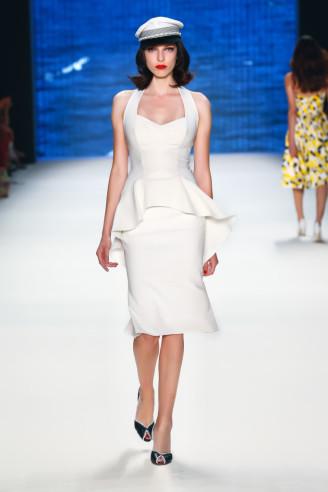 Melania Trump Kleid, weiß
