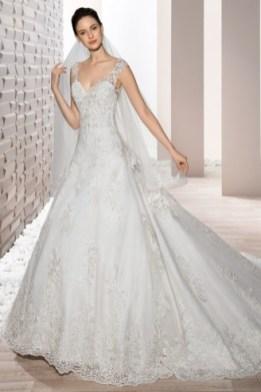 Brautkleid aus Spitze - Demetrios