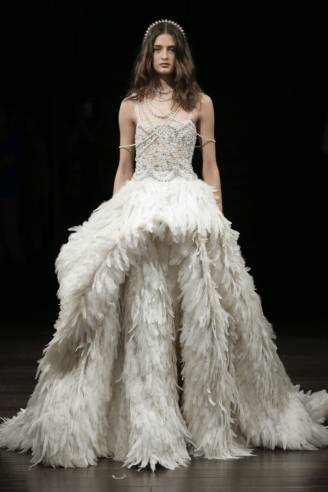 "Naeem Khan Brautkleid ""Atlantis"""