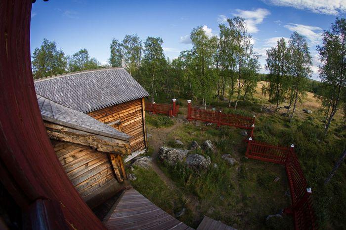 """Blick aus dem Glockenturm. Quelle: """"Finnland-751"""" von Packnhat - Eigenes Werk. Lizenziert unter CC BY-SA 3.0 über Wikimedia Commons - https://commons.wikimedia.org/wiki/File:Finnland-751.JPG#/media/File:Finnland-751.JPG"""