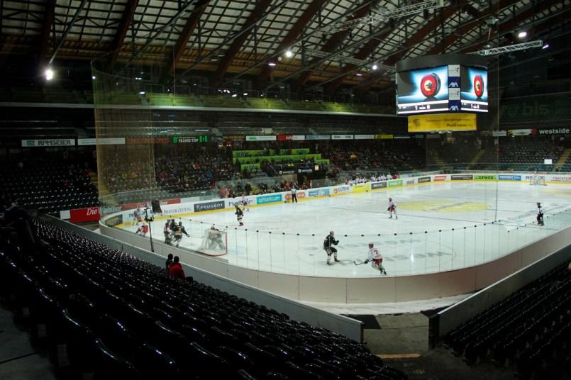 1. Liga Finalrunde in der Postfinance Arean Bern, EHC Wiki Münsingen - EHC Winterthur, 04. April 2014