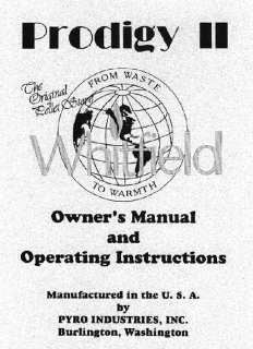 Spg Dynasty Wood Stove Manual