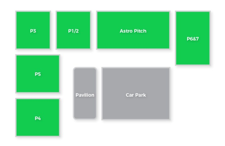 pitch layout