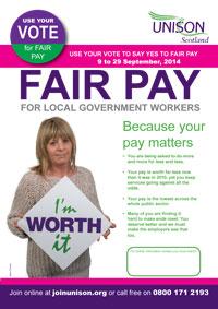Fair Pay Poster