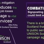 UNISON Scotland Combating Austerity Campaign