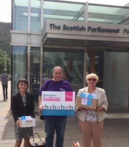 Mark Ferguson at Scottish Parliament