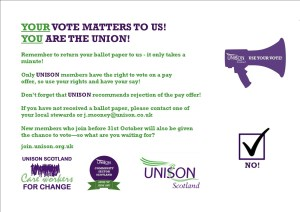 Return your ballot