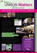 thumbnail of UNISON newsletter Feb 2020 WEB