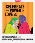 May 17: International Day Against Homophobia, Transphobia and Biphobia