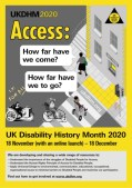 Join us to celebrate Disability History Month 18th November to 18th December
