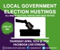 UNISON Local Government Hustings 15th April at 7pm