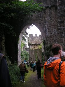 Photo of Gwrych Castle taken on one of the 2014 Open Days by David Hughes