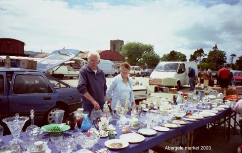 Abergele Market Car Boot Sale - Copyright Dennis Parr Collection