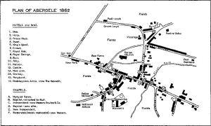 Abergele Town Plan 1862