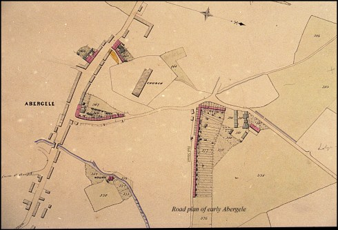 Old map of Abergele From the Dennis Parr Collection