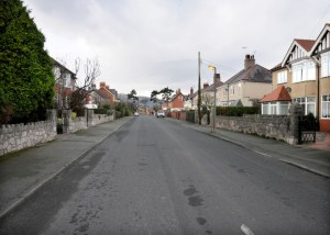 Alexandra Road, Abergele. Photo taken in 2012/13 by Sion Jones