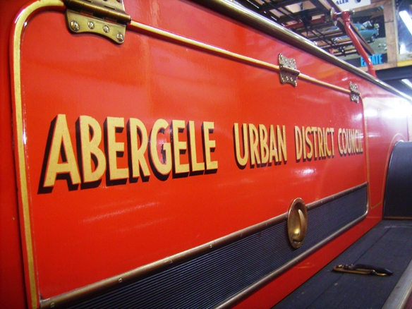 Old Red Fire Engine of AUDC