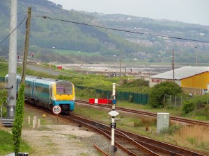 Manchester  to Llandudno 'Club Train' heading west from Abergele and Pensarn