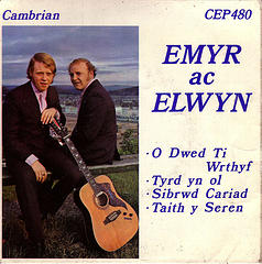Emyr ac Elwyn Photo of 45rpm by Nic Dafis from Flickr