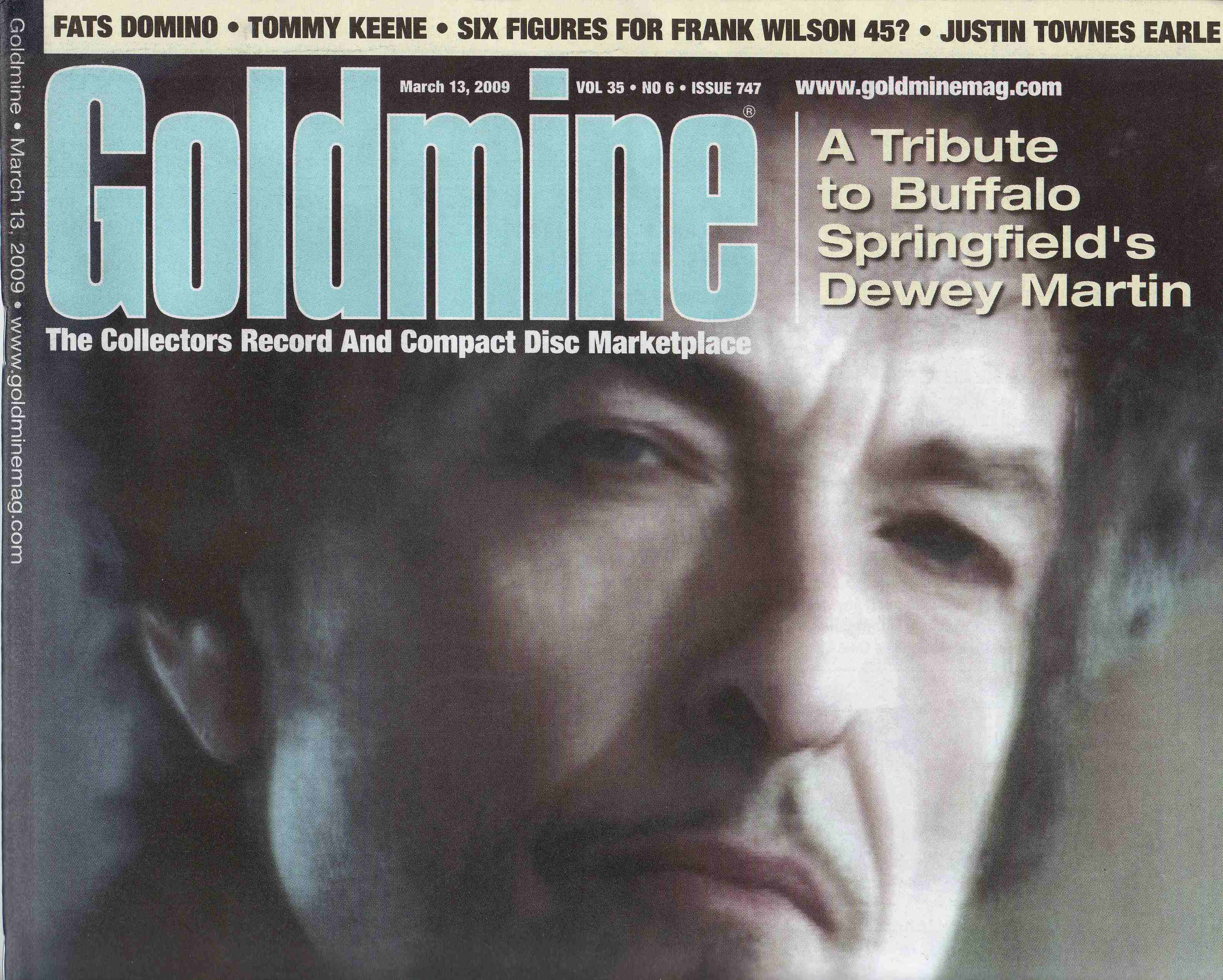 Goldmine March 13th 2009