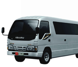 Harga sewa mobil murah Elf 18 Seat di Bandung