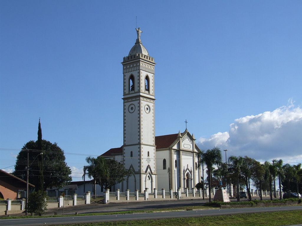 Foto da Igreja de São Sebastião de Rondinha, representando abrir empresa em Campo Largo