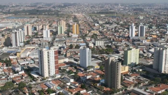 Foto aérea de Suzano, representando abrir empresa em Suzano - Abertura Simples